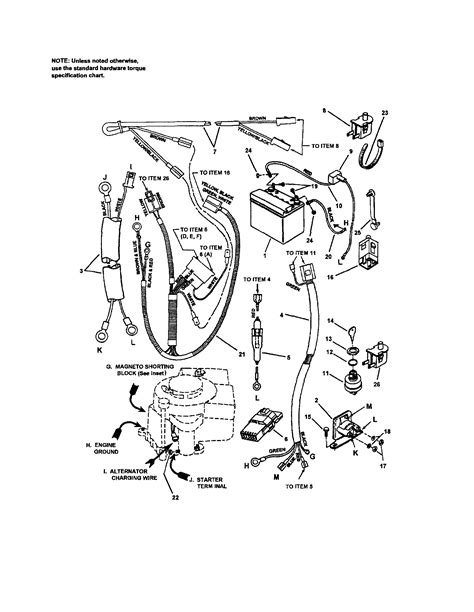 electrical 12 5 hp briggs diagram parts list for model