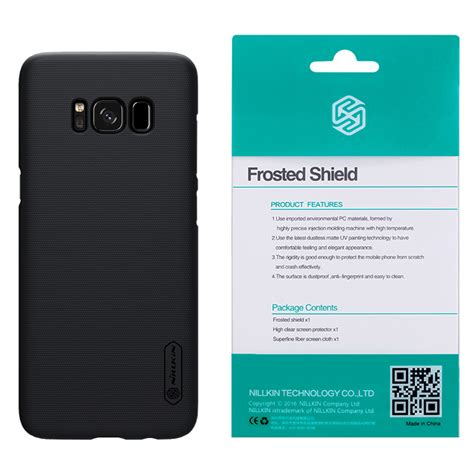 Nillkin Frosted Shield For Samsung Galaxy S8 Black Original nillkin frosted shield samsung galaxy s8 black