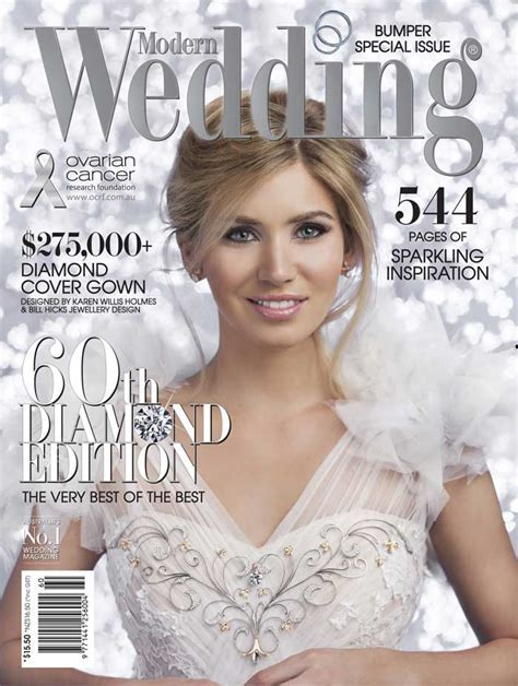 Modern Wedding's 60th Diamond Edition   NOW ON SALE