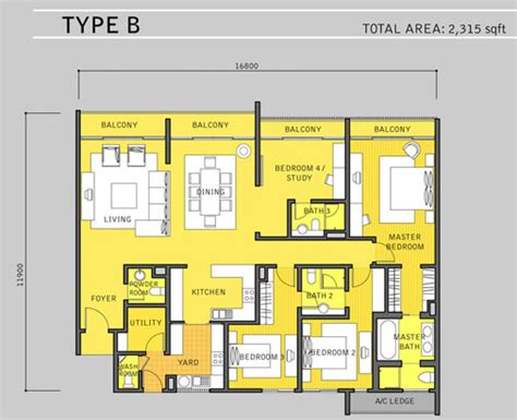 Dua Residency Floor Plan by Malaysia Property For Sale For Rent For Lease Klcc Dua