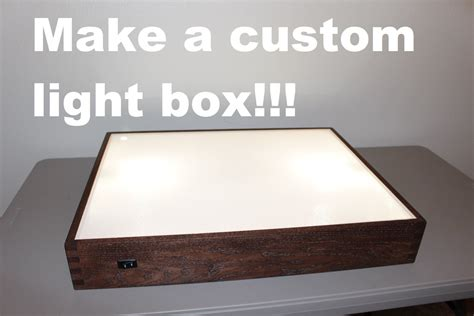 backlit for light box how to build a light box