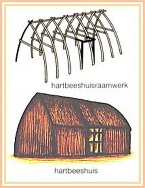 tradisionele xhosa hutte huise in suid afrika