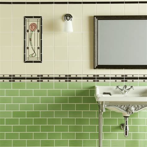 Bathroom Ideas Green And White by Green And White Tiles For Bathroom Tile Design Ideas