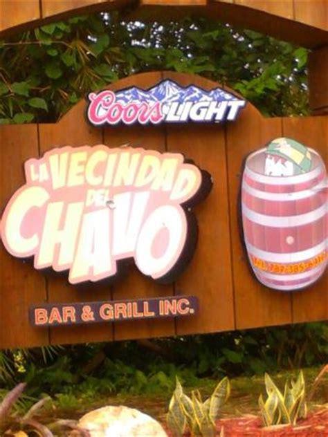 la vecindad del chavo puerto rico la vecindad del chavo bar grill barranquitas