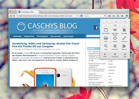 firefox themes yosemite firefox unter os x yosemite wird windows 7 das vorbild