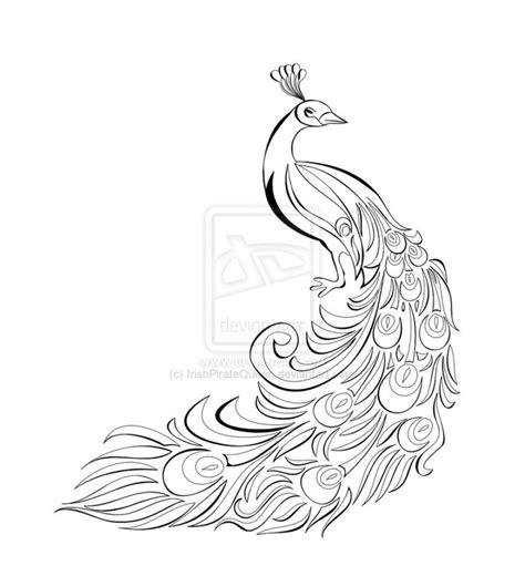 draw diagram pencil drawings of peacocks www pixshark images