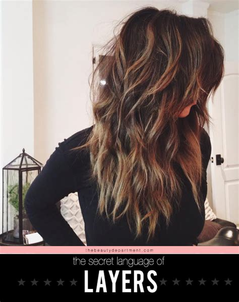 Types Of Layers For Hair by The Department Your Daily Dose Of Pretty