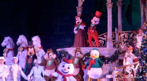mickeys  merry christmas party  magic kingdom walt disney world youtube