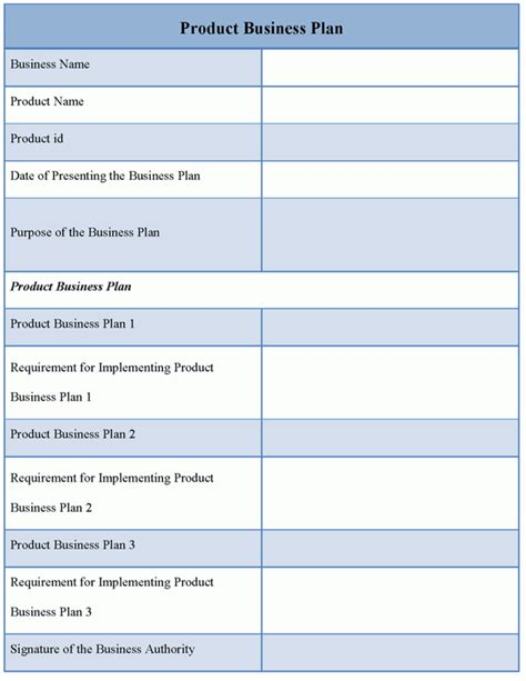 template for business plan business plan template vnzgames