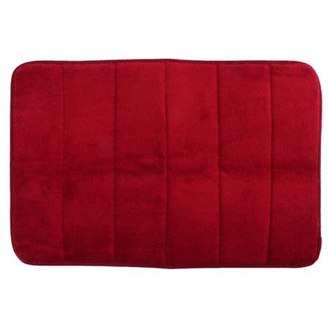 foam rug 40cmx60cm memory foam rug mat bathroom bedroom non slip mats shower carpet wine lazada