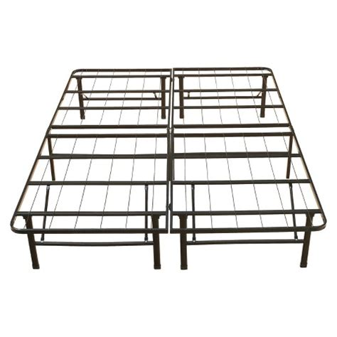 eco dream metal platform base bed frame 14 quot target