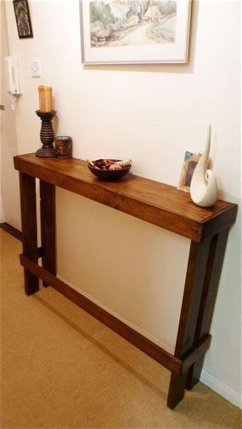 Hallway Side Table 10 Diy Creative Uses Of Pallets Diy Recycled