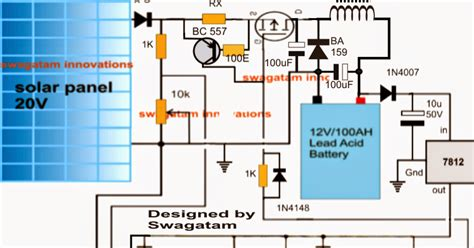 self optimizing solar battery charger circuit with buck