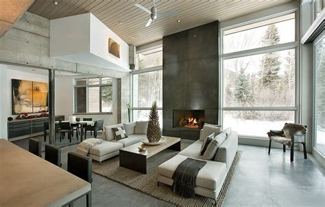 fine homebuilding login unconventional concrete holiday retreat near aspen