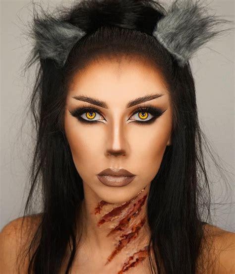 halloween makeup tutorial werewolf werewolf makeup halloween makeup нαυηтє вєαυту