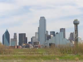 How Many From Dallas To Tx Dallas Skyline One Of Many Viewpoints Of The Dallas