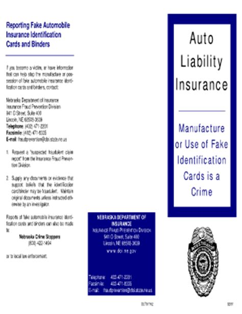 auto insurance card template pdf proof of auto insurance edit template free fill