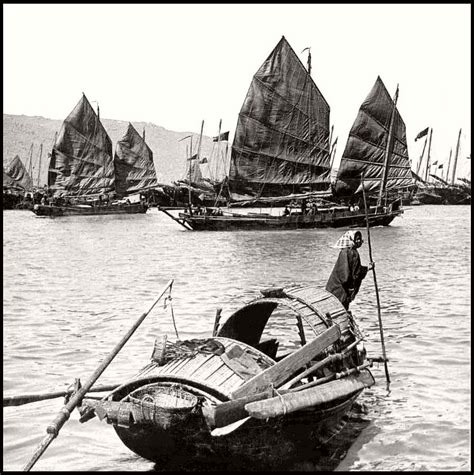 old vintage boat vintage boats of old china junks in the 1900s monovisions