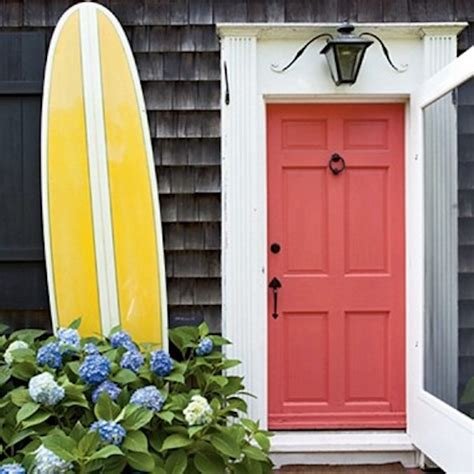 Coral Front Door by Great Feng Shui Front Door Colors To Admire And Learn From