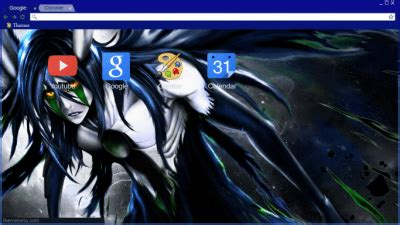 theme google chrome nirvana bleach chrome themes themebeta
