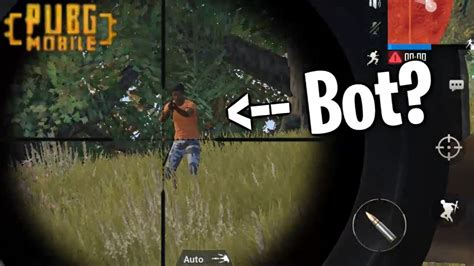 pubg mobile bots pubg mobile is it really of bots yes btw