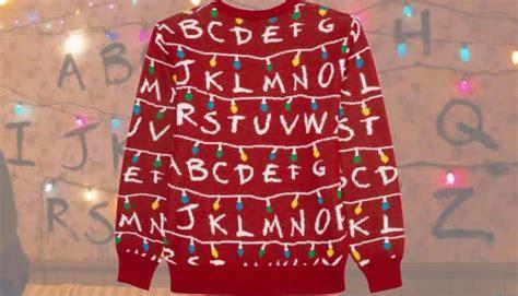 stranger  christmas sweater nerd