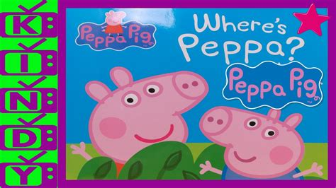 Peppa Pig Also Search For Peppa Pig Story Book Where S Peppa Can You Help Find
