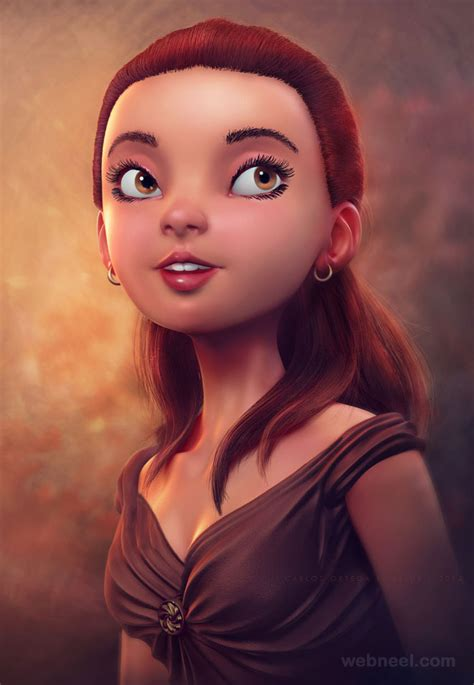 3d girls 25 beautiful fantasy 3d models and character designs by