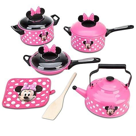 Minnie Mouse Kitchen Playset 71 disney store minnie mouse clubhouse kitchen 9 cooking accessories pots and pans play