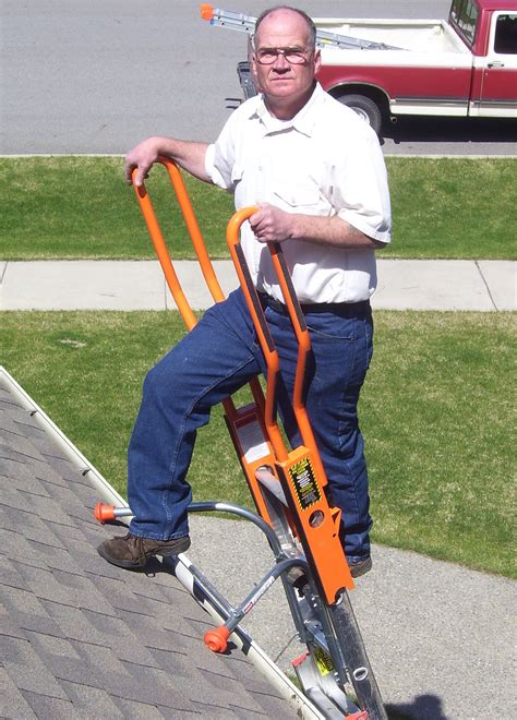 ladder roof standoff ladder max quot original quot ladder standoff stabilizer ladder