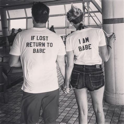 Matching Baseball Shirts For Couples His And Hers Baseball Tees If Lost Return To Lost