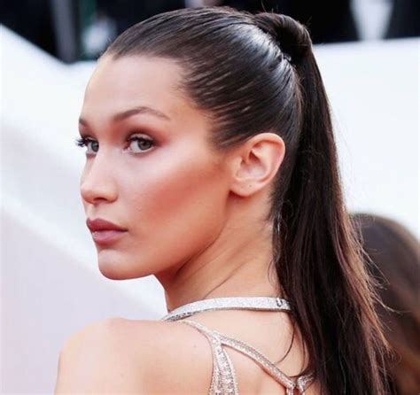 yolanda foster how to sleek ponytail cannes film festival 2016 bella hadid stole the show with
