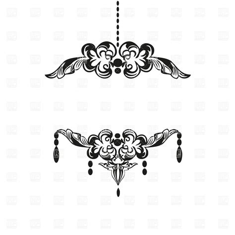 7 Best Images Of Royal Borders Clip Art Free Printable Chandelier Clip Free
