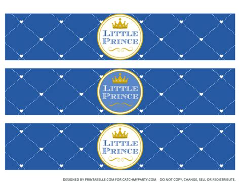 sle water bottle label free prince printables catch my