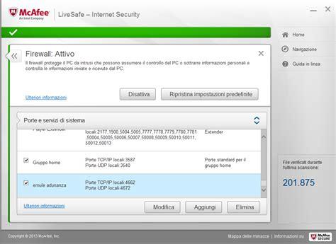 emule test porte emule 3 18 win 8 1 fastweb 6 mb ip statico pubblico