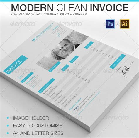 20 creative invoice proposal template designs web
