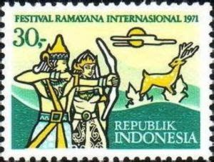 stamp international ramayana festival indonesia international ramayana festival miid