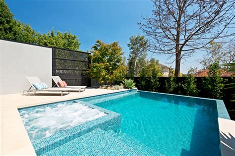 contemporary pools kew infinity pool and spa contemporary pool