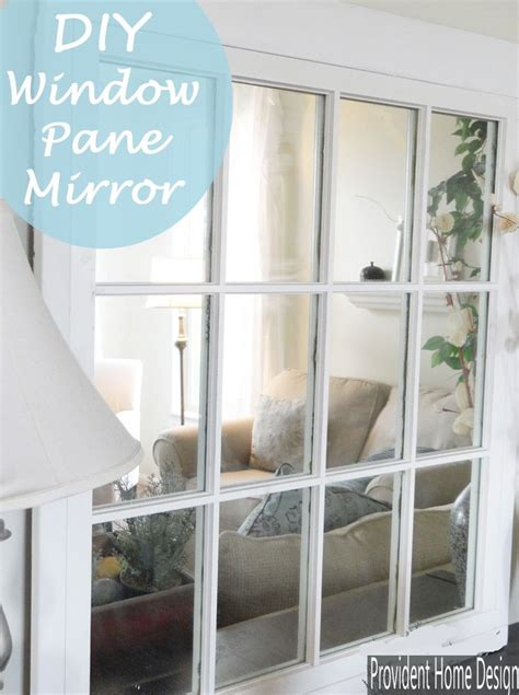mirror home decor diy window pane mirror pottery barn window pane mirror