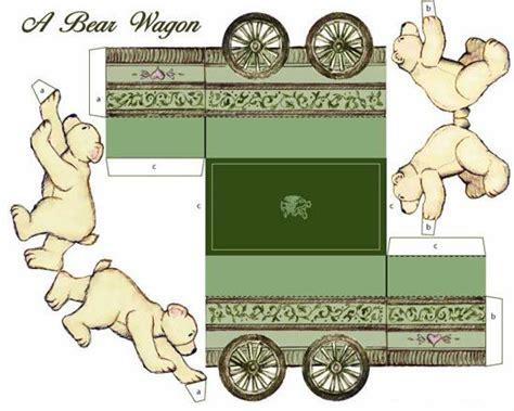 How To Make A Paper Wagon - 17 meilleures images 224 propos de paper toys sur