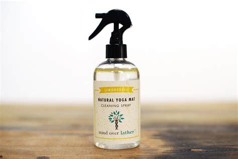 mat spray mind lather lemongrass mat cleaning spray
