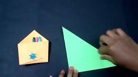 How To Make A Letter Out Of Paper - how to make beautiful letter box origami mail box
