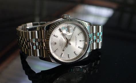 Jam Rolex Flower Matic Silver White jam tangan second sold rolex oyster perpetual datejust 116234 d serial