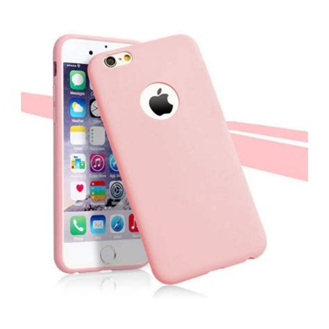 coque silicone couleurs iphone   apple mat ultra