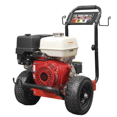 be power washer pressure washer 3600 psi 13 honda gx390