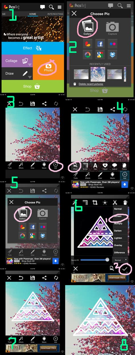 picsart ipad tutorial s h i i d r e a m f a q
