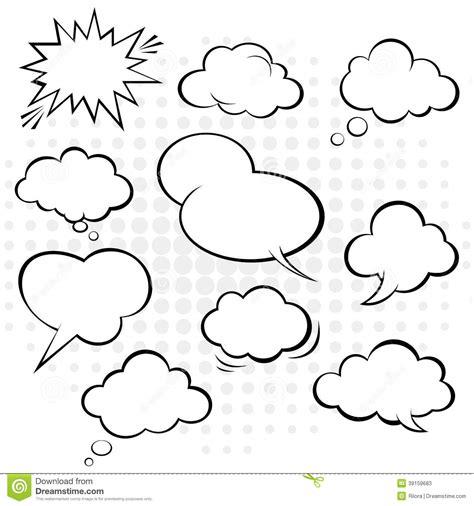 free doodle speech vector comic speech vector stock vector image 39159683