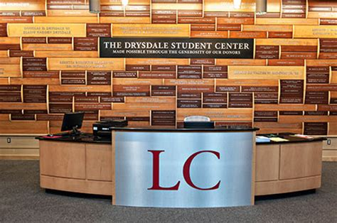 The Hub Information Desk Lynchburg College Student Center Information Desk