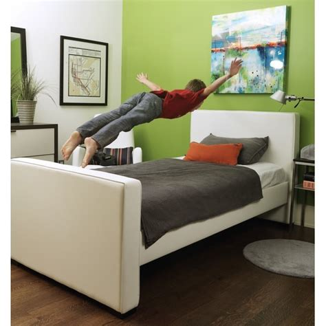 Bugaboo Footboard by Monte Design Dorma Bed With Low Headboard And High