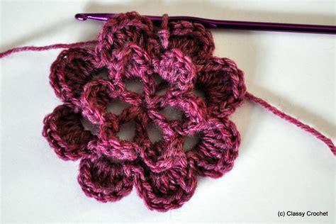 pattern crochet hat with flower knitting patterns classy crochet